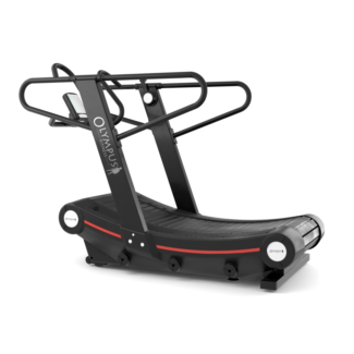 Curved Deck Treadmill