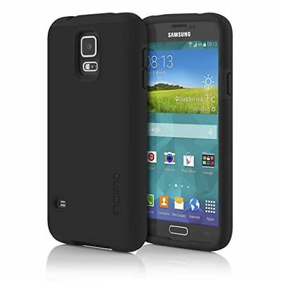 NEW Incipio Samsung Galaxy S5 DualPro Dual Layer Protection Cases in Black