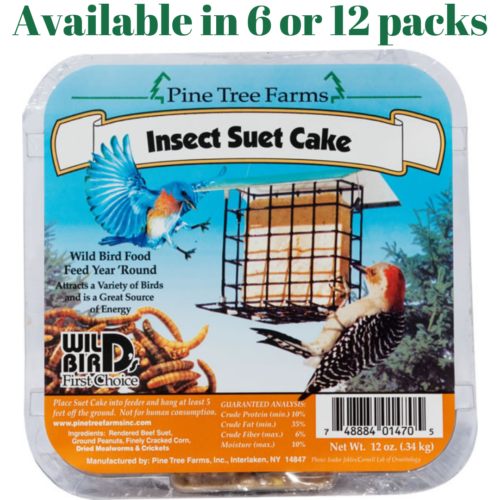 Pine Tree Farms Insect Suet Cakes 12 oz.