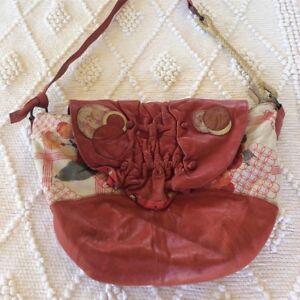Gorgeous Red Ery Soft Cross Body Nancybird Bag