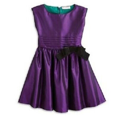 American Girl Purple Party Dress  Retired Taffeta Girls Size