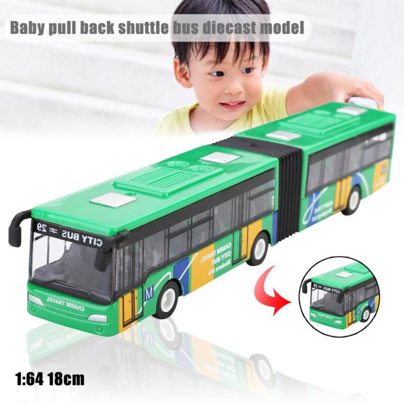 1/64 Scale Bus Reisebus Spielzeugbus Spielzeugauto für Kinder Geschenk