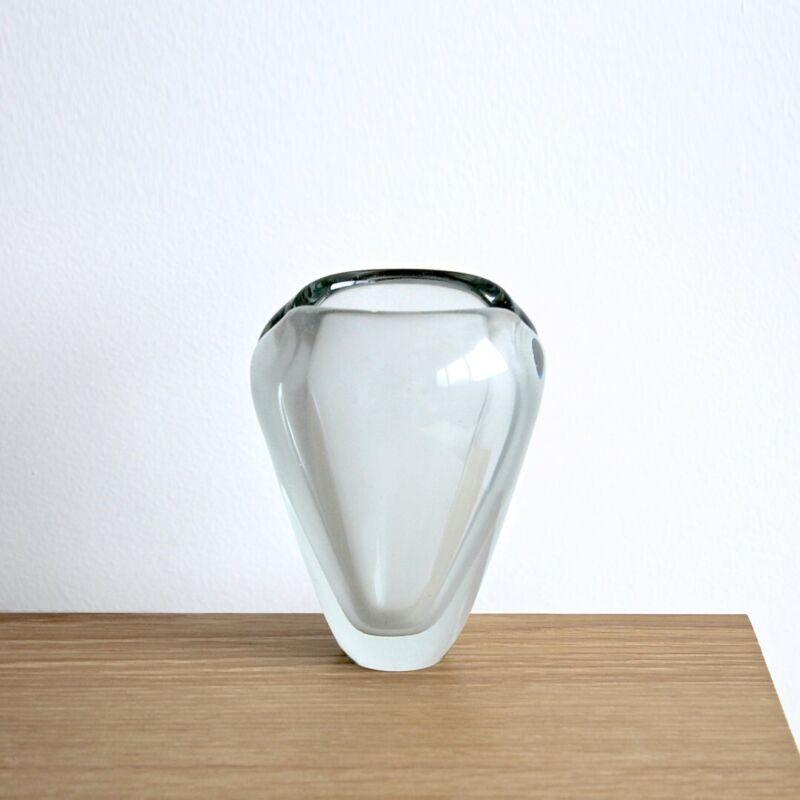Original Midcentury Vintage Vase by Kaj Franck for Nuutajärvi Notsjö