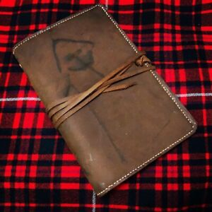 Leather Journal/day planner (6 ring)