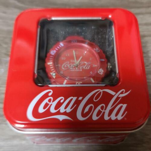 Coca-Cola Watch Silicone Red