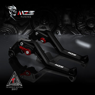 MZS Brake Clutch Levers For Honda CBR 600 F2,F3,F4,F4i 1991-2007 CBR900RR Black