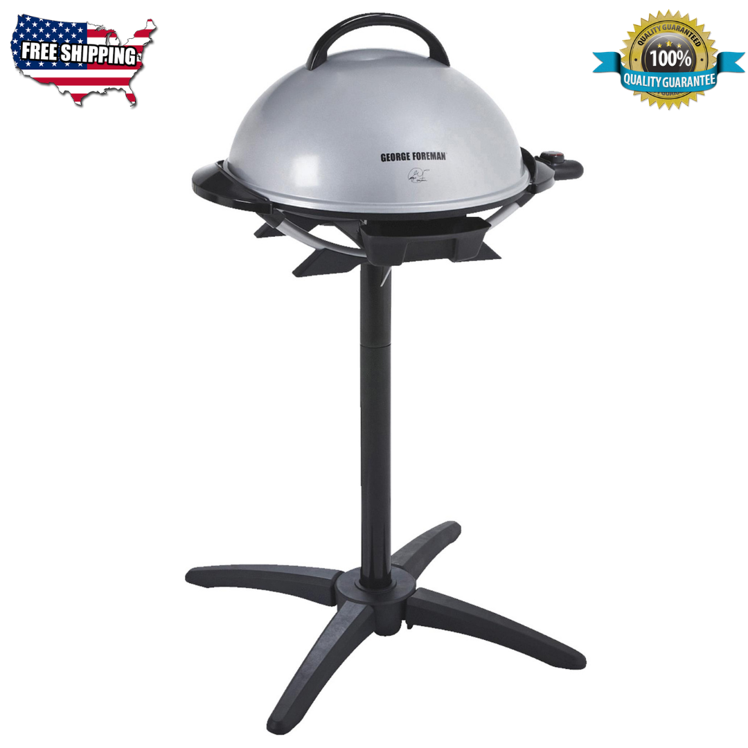 George Foreman 15+ Serving Indoor/Outdoor Electric Grill, Si