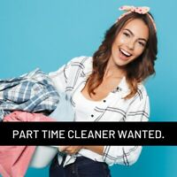 WANTED | Part Time Cleaner in Gravenhurst