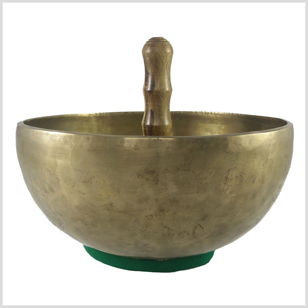 Kissen 250 Gramm Handarbeit Kopfschale Chakra Meditation Tibet Klangschale inkl