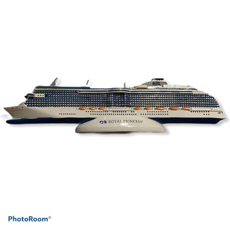 Royal Princess Princess Cruises Cruise Ship Model Replica Ceramic Bermuda Seas C