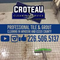 Professional tile and grout cleaning in Windsor