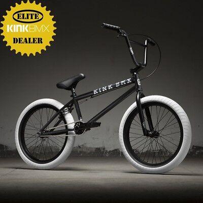"2019 Kink Gap FC 20.5"" BMX Bike (Matte Guinness Black) COMPLETE FREECOASTER BIKE"