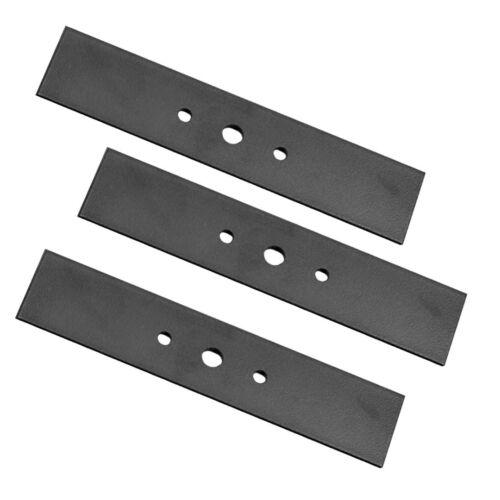 "3 Pack Edger Blade Repl Black & Decker 82-024 model 8224  7 5/8""x 1 1/2"" X 7/16"