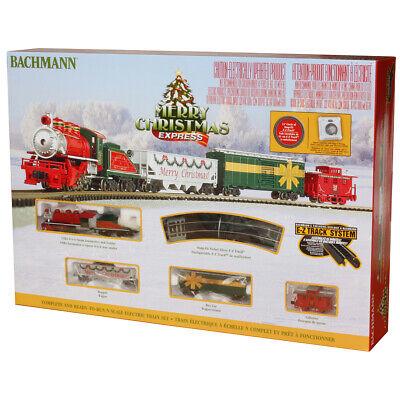 Bachmann 24027 Merry Christmas Express Train Set : N Scale