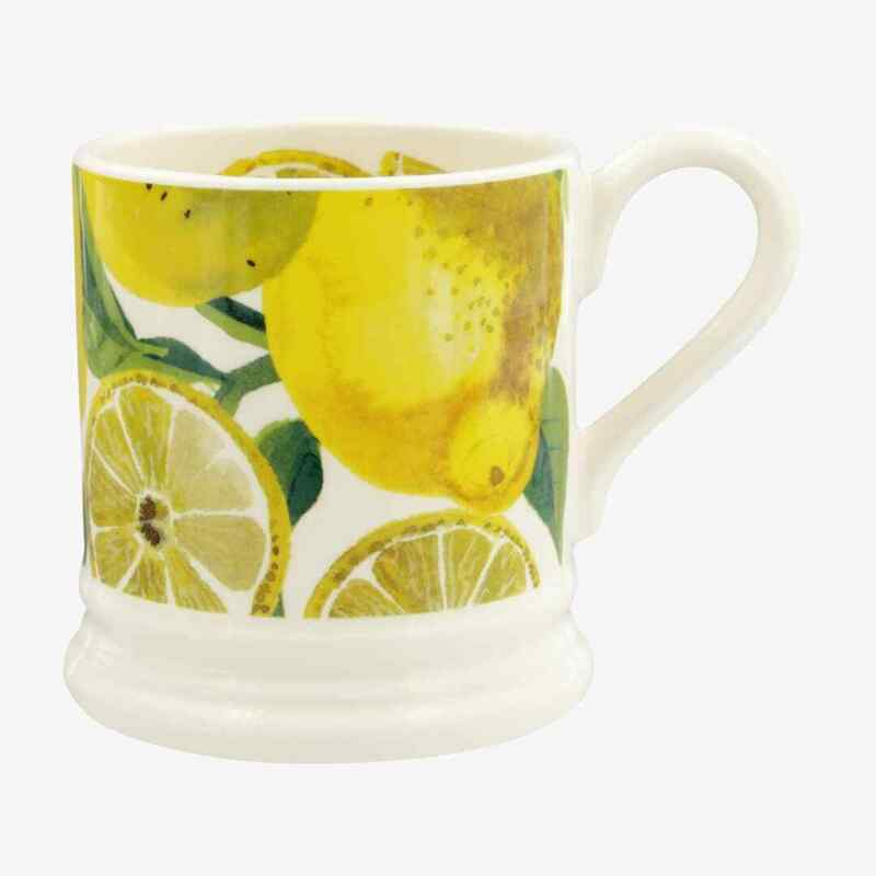 Emma Bridgewater Vegetable Garden Lemons 1/2 Pint Mug