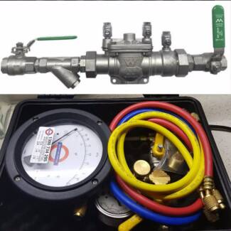 AK Gas and Plumbing Backflow testing from $77
