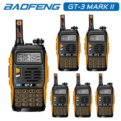 6* Baofeng GT-3 MKII Dual-Band V/UHF Two-way Ham Radio for Police Walkie Talkie](Police Walkie Talkie)