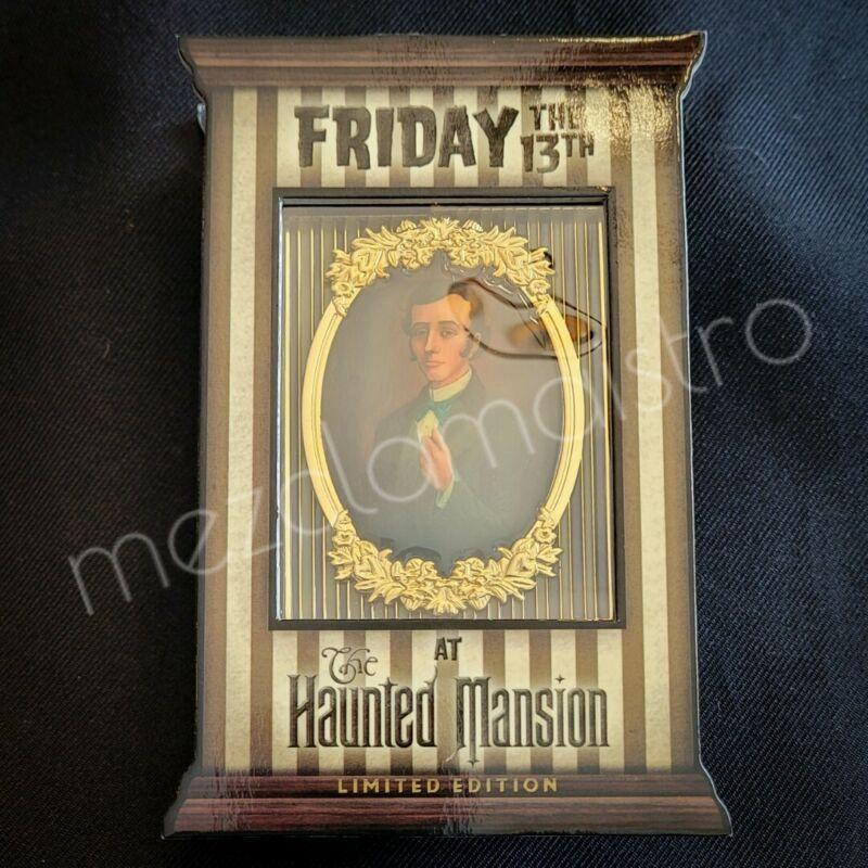RARE Disney Haunted Mansion Jumbo Friday The 13th Master Gracey Pin LE 750