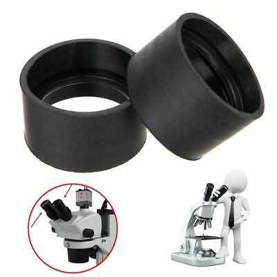 2pcs 29-30mm Eyepiece Eye Shield Rubber Eye Guards Cups For Microscope Binocular