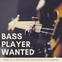 Original Rock Band Seeks Bass Player!