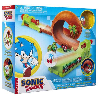 New Sonic The Hedgehog Pinball Track Set