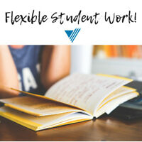 Part-Time & Full-Time - Student Work – Apply Today!