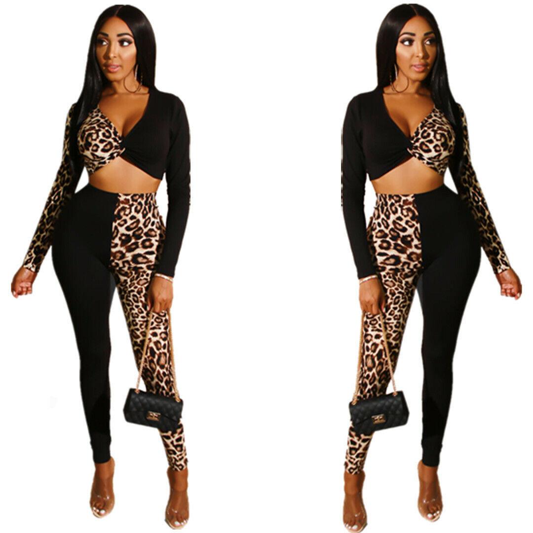 Women Spaghetti Strap Colorful Leopard Print Bodycon Club Party Short Jumpsuits