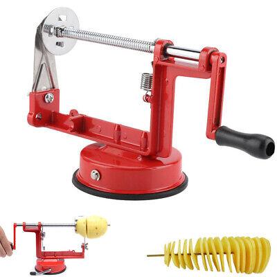 Kartoffelspiralschneider Spiralschneider Kartoffelschneider Chips Maschine NEU