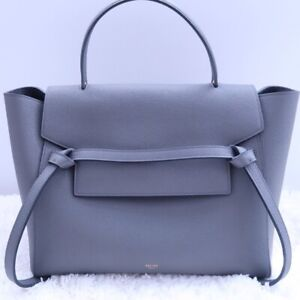 Authentic Celine Mini Belt Bag in grained leather