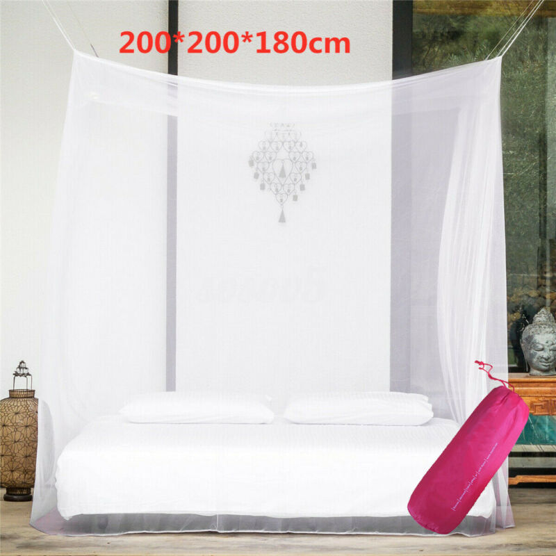 US Large Camping Mosquito Net Indoor Outdoor Netting Storage