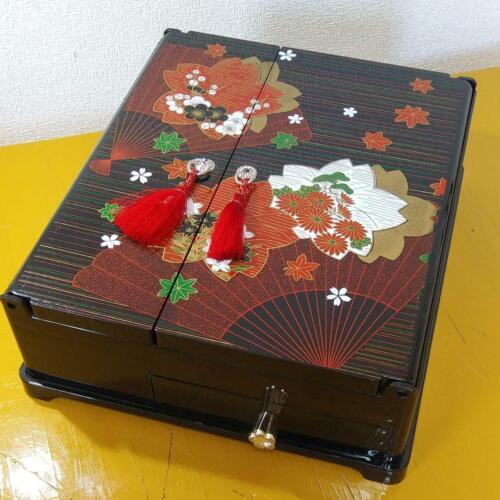 Japanese Calligraphy box VERY BEAUTIFUL import from Japan Writing Box