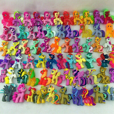 Lot 20pcs Hasbro MLP My Little Pony Friendship Is Magic Figure random no repeat