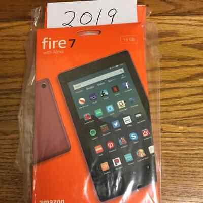 New Amazon Fire 7 Tablet 16 gb 9th Gen 2019 Alexa 7