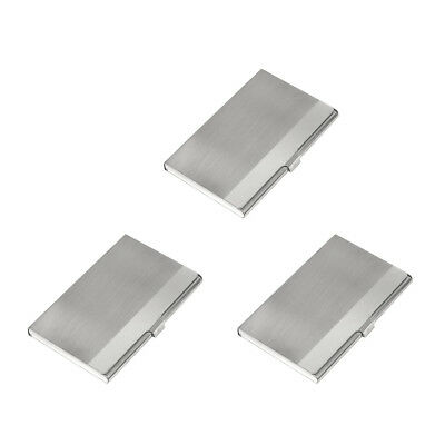 Metal Stainless Steel Business Name Id Credit Money Card Case Holder Wallet