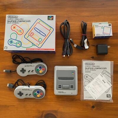 Nintendo Classic Mini Super Famicom Console Snes Sfc Giappone Ufficiale