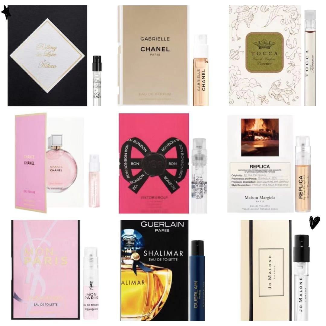 Perfume Samples Designer Fragrance Cologne Prada Chanel Dior YSL Tom Ford