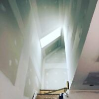 Professional drywall boarding and taping