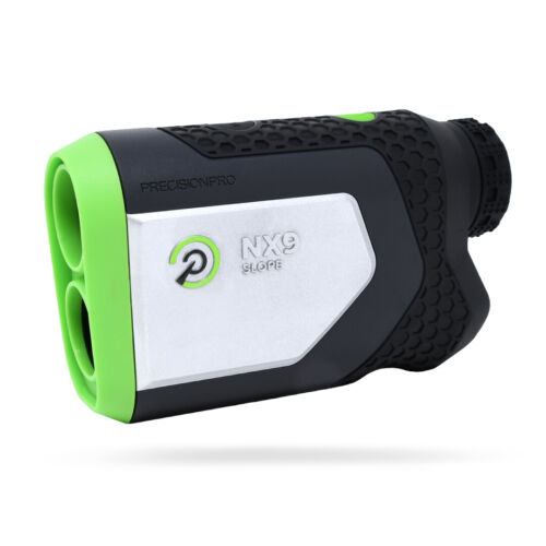 Precision Pro Golf NX9 Slope Rangefinder w/ Magnetic Grip and Pulse - NEW