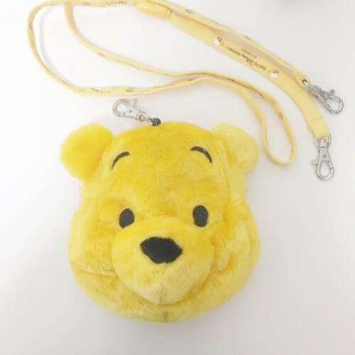 TDR Tokyo Disney Resort Plush Pass Holder Case Mini Pouch Winnie The Pooh Japan