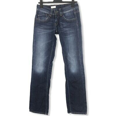 Pepe Jeans Dames Vrouwen Straight Fit Denim Jeans W27 L32