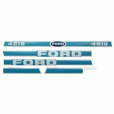 Hood Decal Kit For A Ford 4610 Tractor