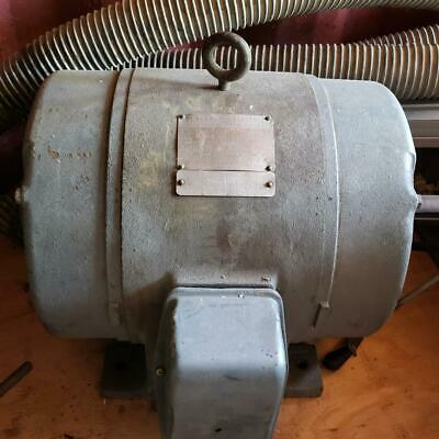 Ge Induction Motor 15 Hp Woodworking Machinery