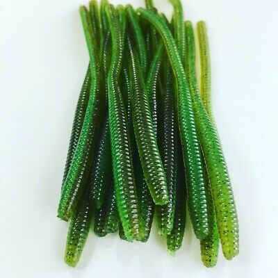"""20 Pack 2.5/"""" Trout Worm Floating Baits Lure Survival Fishing Earthworm Unscented"""