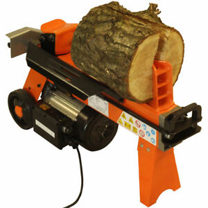 ELECTRIC HYDRAULIC 5 TON FAST LOG SPLITTER WOOD TIMBER CUTTER 2200 WATT MOTOR