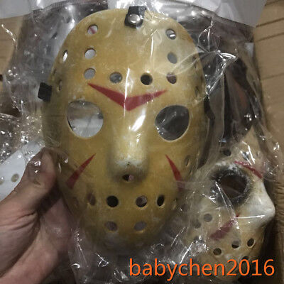 Small Kids Old Jason Halloween Mask Voorhees Friday The 13th Hockey Scary Mask - Jason Scary
