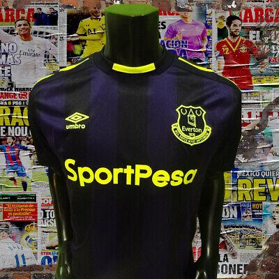 Everton away soccer jersey 2017 - 2018 size L image