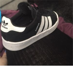 Size 7 Adidas for a toddler