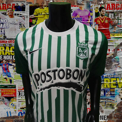 Colombia Atletico Nacional home soccer jersey 2013 size M image