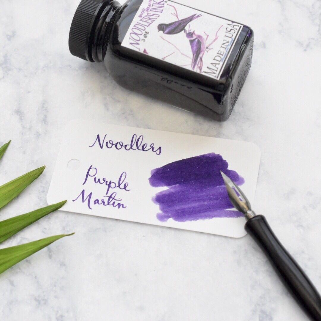 Noodlers Purple Martin 3oz Fountain Pen Ink Bottle