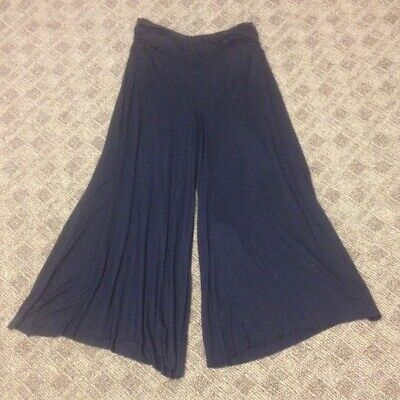 Belted Jeans Spandex (GUESS JEANS Black Viscose Elastic Waist Wide Leg Belted Cropped Pat Sz XS GG8108)